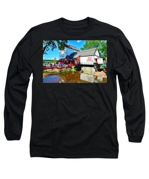 Bucks County Playhouse Long Sleeve T-Shirt
