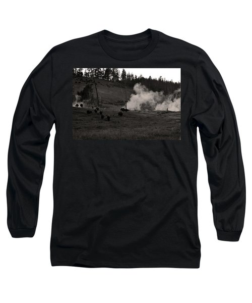 Buffalo Apocalypse  Long Sleeve T-Shirt