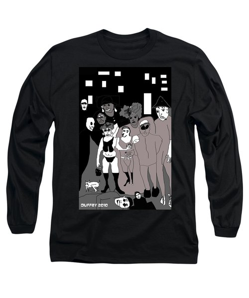 Bus Stop New Orleans Long Sleeve T-Shirt