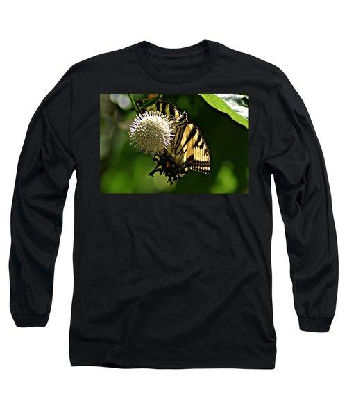 Butterfly 2 Long Sleeve T-Shirt by Joe Faherty
