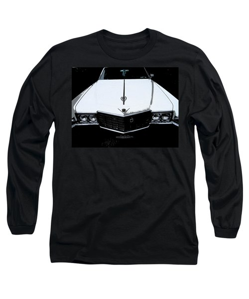Long Sleeve T-Shirt featuring the photograph Cadillac Pimp Mobile by Kym Backland