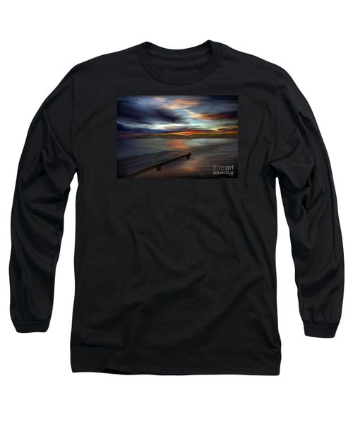 Long Sleeve T-Shirt featuring the painting California Sky by Rand Herron