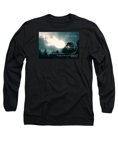 Calm The Storm Long Sleeve T-Shirt by Lena Auxier