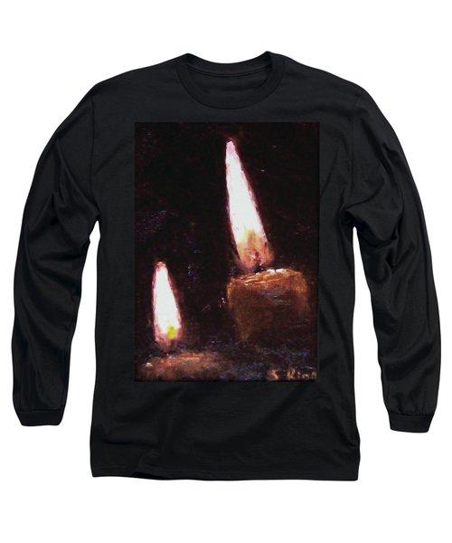Candle Glow Long Sleeve T-Shirt