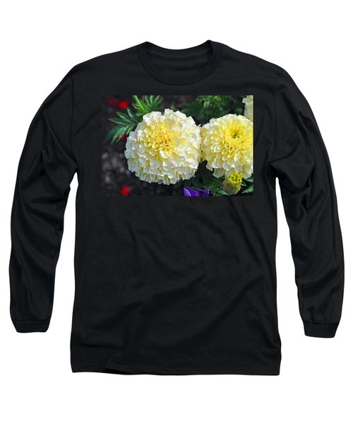 Long Sleeve T-Shirt featuring the photograph Carnations by Tikvah's Hope
