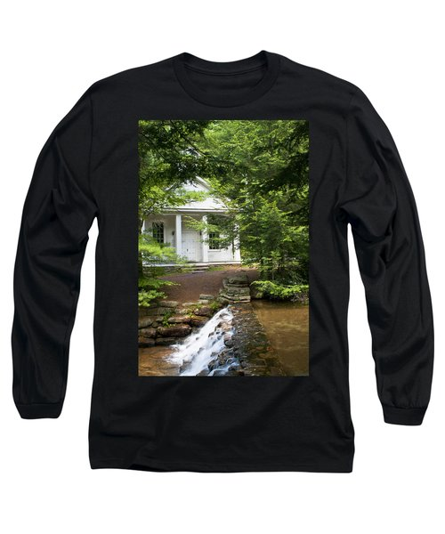 Chapel At Hickory Run State Park Long Sleeve T-Shirt