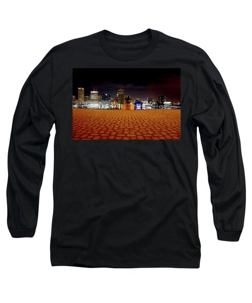 Charm City Skyline Long Sleeve T-Shirt