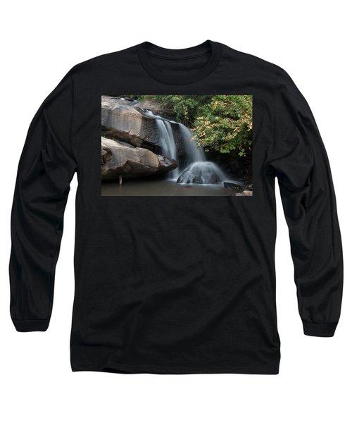 Chau-ram Falls Long Sleeve T-Shirt by Lynne Jenkins