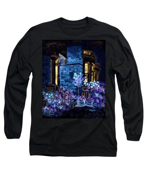 Chelsea Row At Night Long Sleeve T-Shirt
