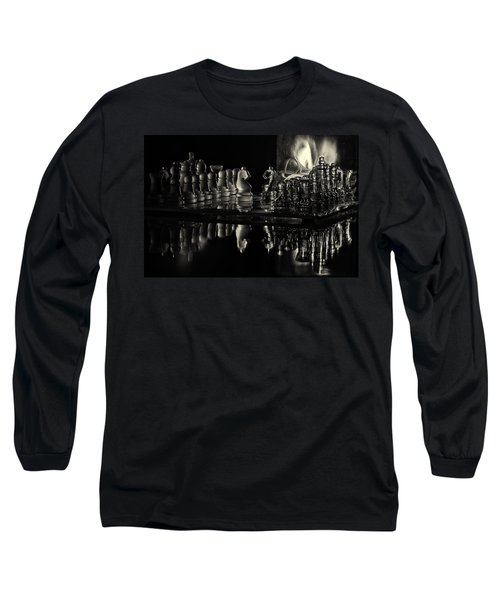 Chess By Candlelight Long Sleeve T-Shirt