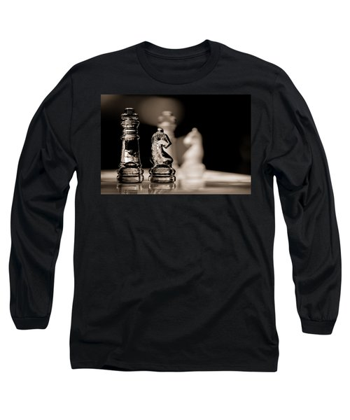 Chess King And Knight Long Sleeve T-Shirt