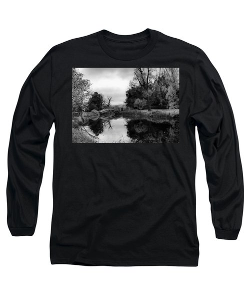 Chinese Bridge At Wrest Park Long Sleeve T-Shirt
