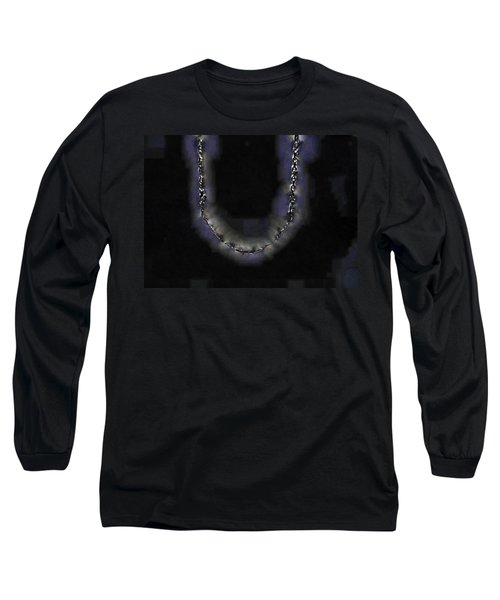Long Sleeve T-Shirt featuring the digital art Cleopatra's Necklace by Steve Taylor