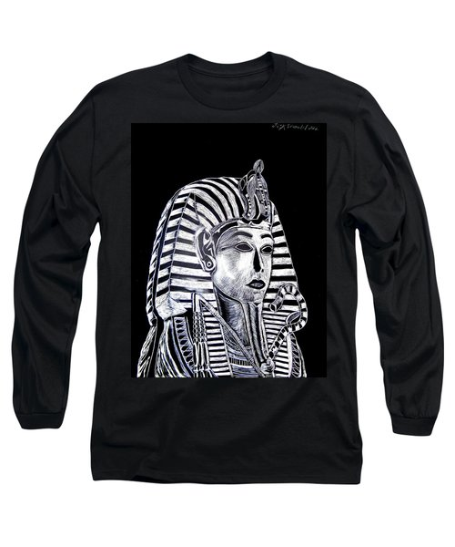 Coffin Of The King Long Sleeve T-Shirt by Lisa Brandel