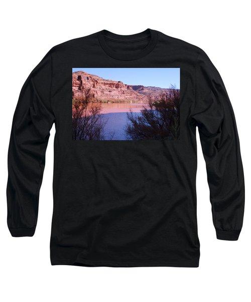Colorado River After Rain - Utah Long Sleeve T-Shirt