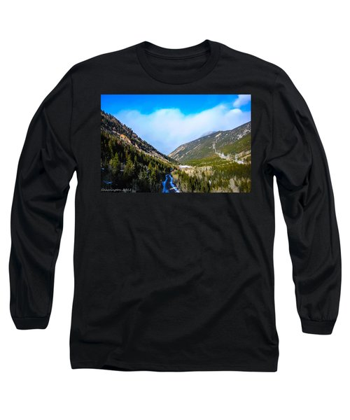 Long Sleeve T-Shirt featuring the photograph Colorado Road by Shannon Harrington