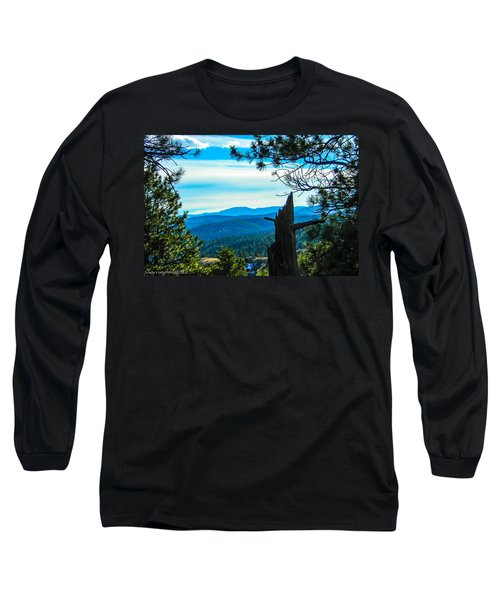 Long Sleeve T-Shirt featuring the photograph Colorado View by Shannon Harrington