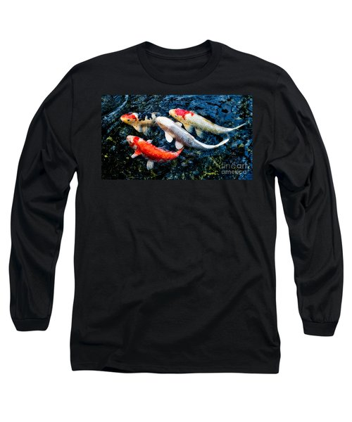 Colorful Swimmers Long Sleeve T-Shirt
