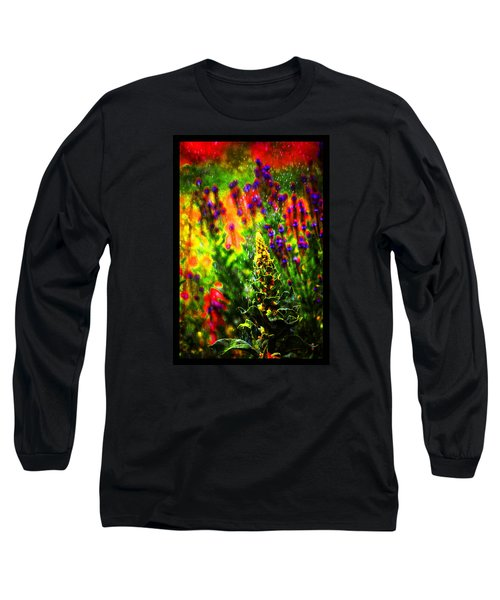Colors Through The Rain Iv Long Sleeve T-Shirt by Susanne Still