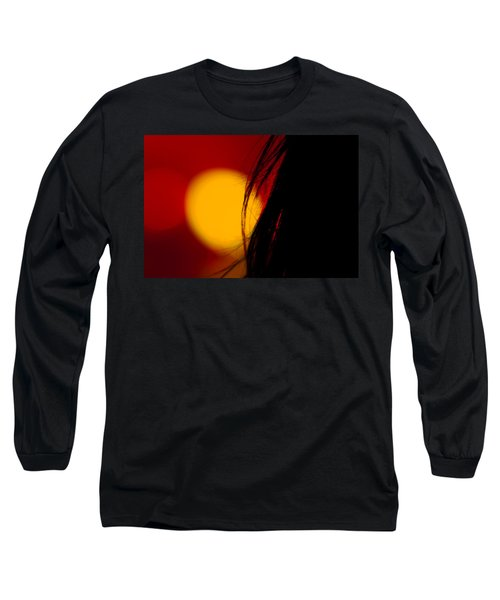 Long Sleeve T-Shirt featuring the photograph Concert Silhouette by Tom Gort