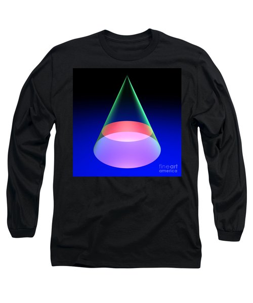 Conic Section Circle 6 Long Sleeve T-Shirt by Russell Kightley
