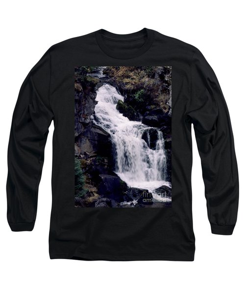 Cool Clear Waters Long Sleeve T-Shirt by Sharon Elliott