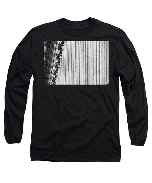 Long Sleeve T-Shirt featuring the photograph Corinthian Columns by John Schneider