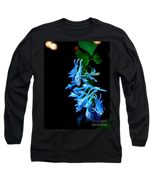Long Sleeve T-Shirt featuring the photograph Corydalis  by Tanya  Searcy