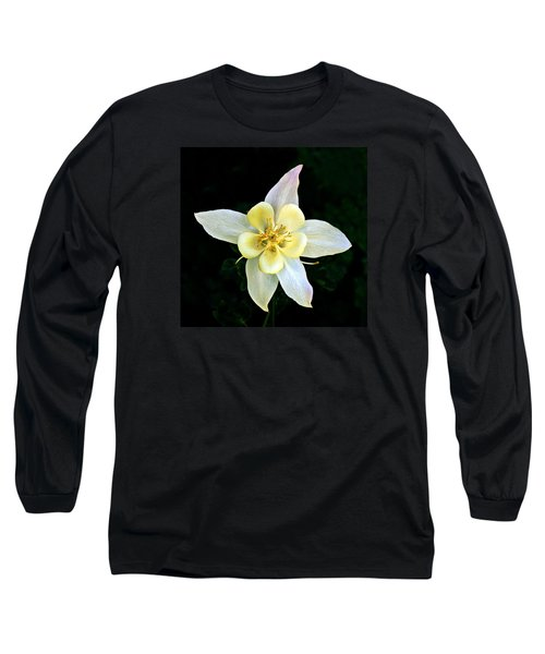 Creamy Columbine Long Sleeve T-Shirt