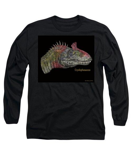 Cryclosaurus Dinosaur Long Sleeve T-Shirt
