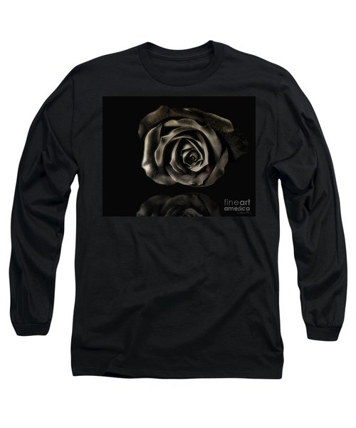 Crying Black Rose Long Sleeve T-Shirt