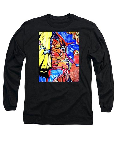 Butterflies Wings  Long Sleeve T-Shirt by Sandra Lira