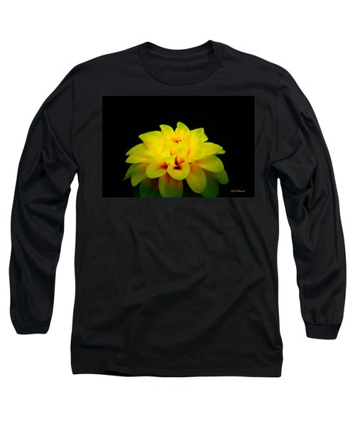 Long Sleeve T-Shirt featuring the photograph Dahlia Delight by Jeanette C Landstrom