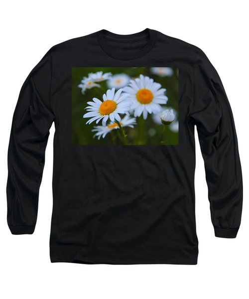 Daisy Long Sleeve T-Shirt by Athena Mckinzie