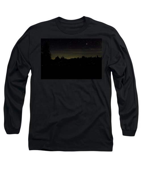 Dancing Fireflies Long Sleeve T-Shirt by Brent L Ander