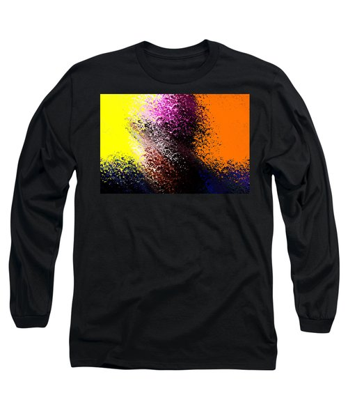 Dark Wave Long Sleeve T-Shirt by Terence Morrissey