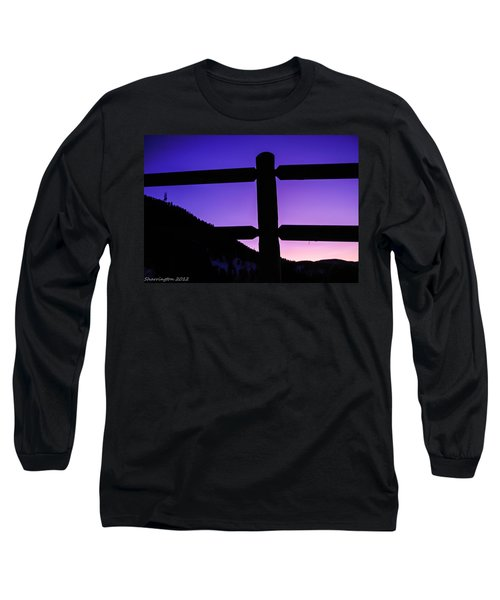 Long Sleeve T-Shirt featuring the photograph Darkening Sky by Shannon Harrington