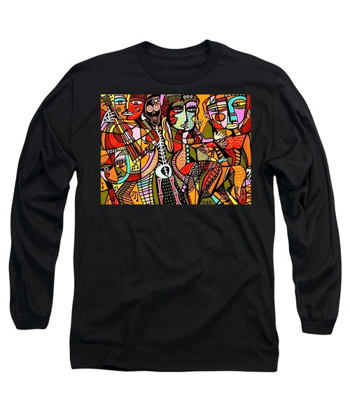 Day Of The Dead Lovers Tango Long Sleeve T-Shirt
