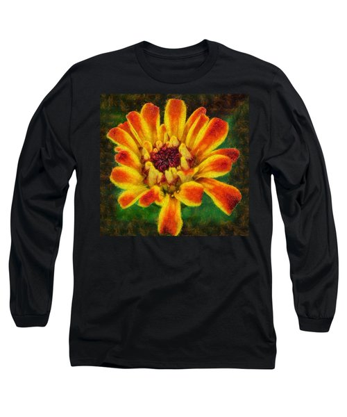 Dazzling Zinnia Long Sleeve T-Shirt