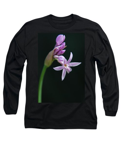 Long Sleeve T-Shirt featuring the photograph Flowering Bud by Tam Ryan