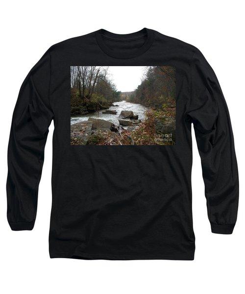 Destination Atlantic Long Sleeve T-Shirt by Christian Mattison