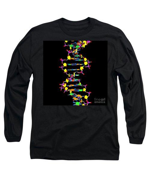 Dna 37 Black Long Sleeve T-Shirt