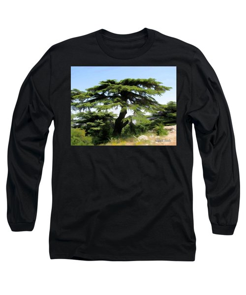 Do-00511 Cedar Forest Long Sleeve T-Shirt
