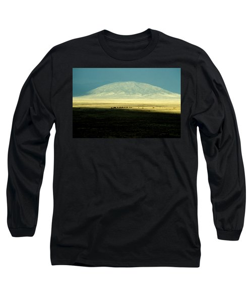 Dome Mountain Long Sleeve T-Shirt by Brent L Ander