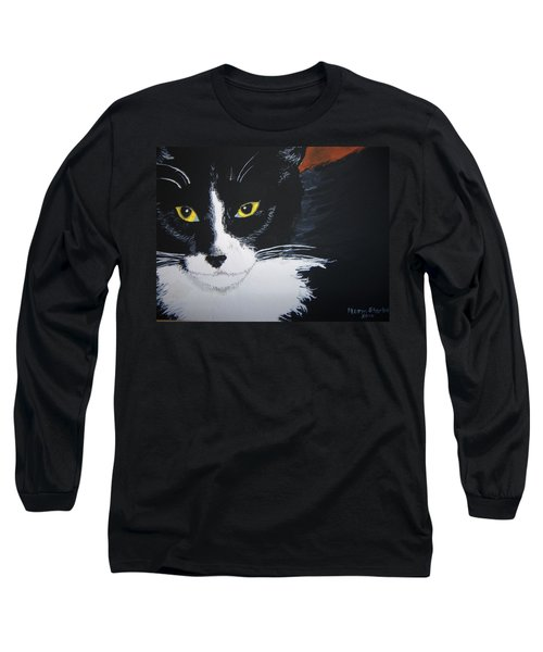 Long Sleeve T-Shirt featuring the painting Don't Bug Me by Norm Starks
