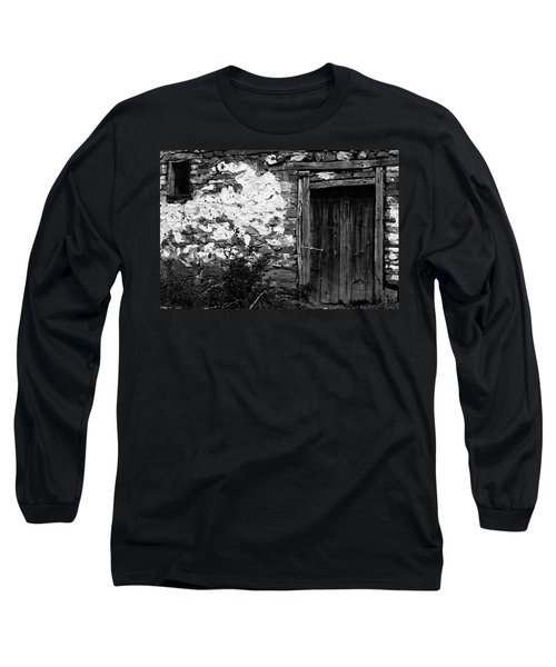 Door  Window And The Wall  Long Sleeve T-Shirt