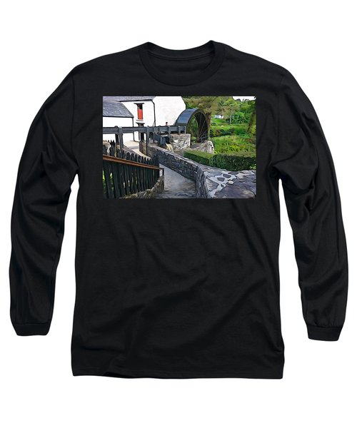 Long Sleeve T-Shirt featuring the photograph Down To The Mill by Charlie and Norma Brock