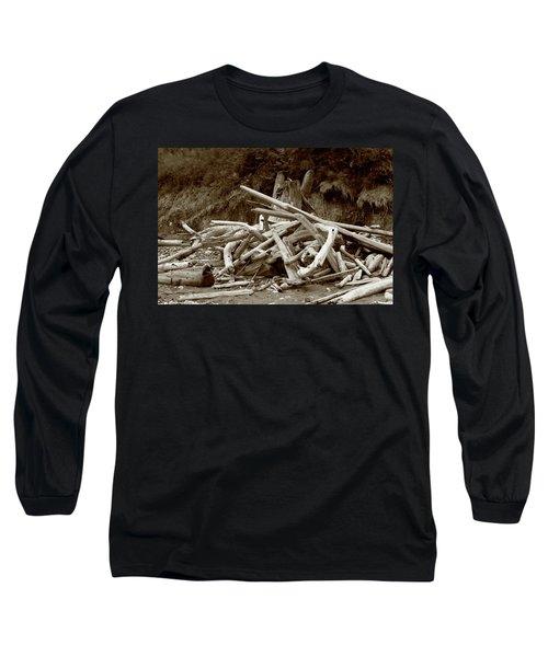 Driftwood Pile San Juan Long Sleeve T-Shirt