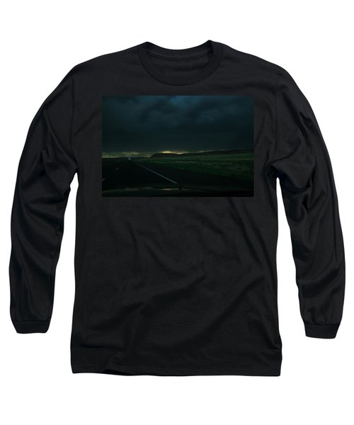 Driving Rain Number One Long Sleeve T-Shirt