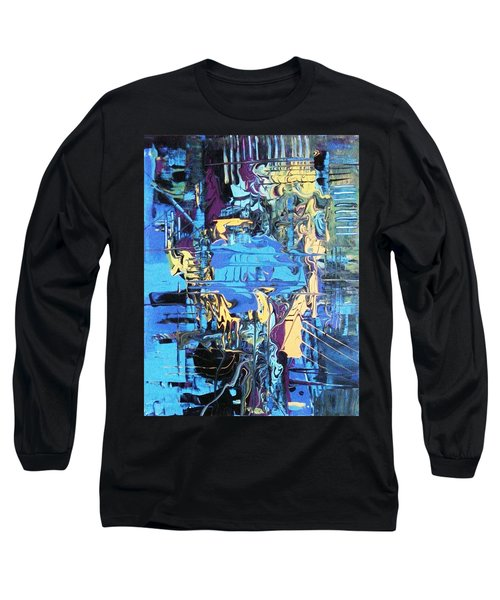 Drowning In The Blues Long Sleeve T-Shirt